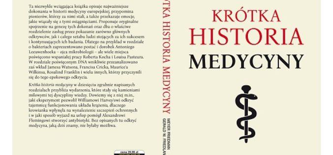 Krótka historia medycyny już w sprzedaży