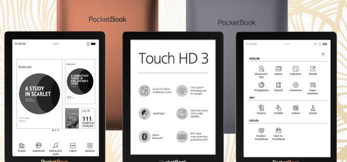 PocketBook Touch HD 3 z nowym oprogramowaniem: nowy design i usprawnione funkcjonalności