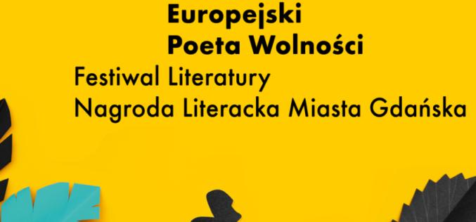 Przesunięcie Festiwalu Europejski Poeta Wolności oraz gali Nagrody Literackiej Prezydenta Miasta Gdańska