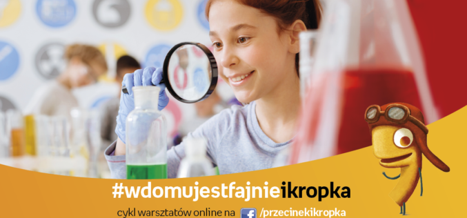 Warsztaty online dla dzieci od Przecinka i Kropki