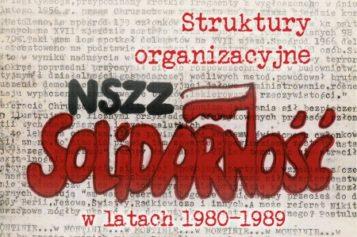 Anna Modzolewska, Struktury organizacyjne NSZZ Solidarność w latach  1980-1989