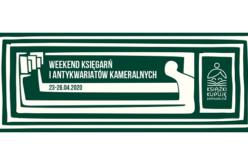 Weekend Księgarń i Antykwariatów Kameralnych 2020