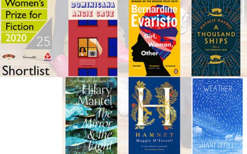 Ogłoszono finalistki Women's Prize for Fiction 2020