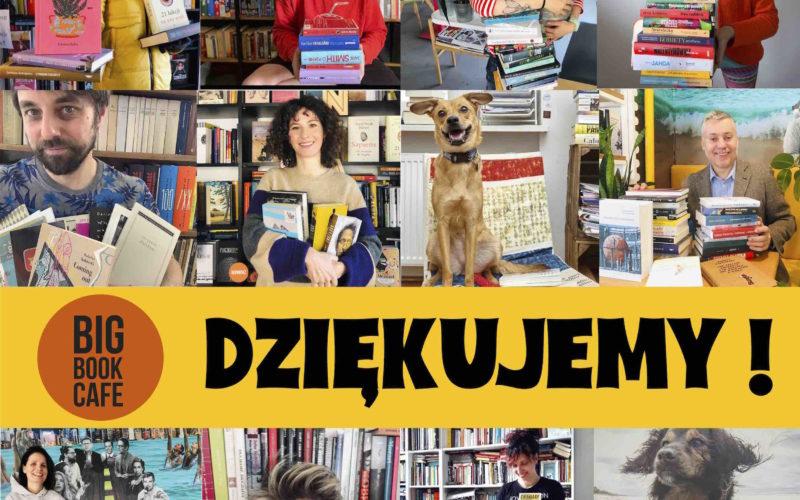 KSIĄŻKA NA WYNOS – trwa akcja Big Book Cafe