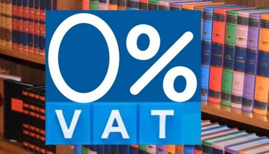 Czy jest szansa na 0 proc. VAT na prasę i książki?