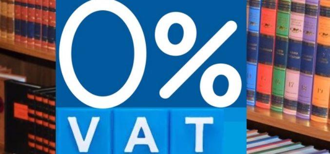 Polska wystąpi do Komisji Europejskiej o obniżenie stawki VAT na książki