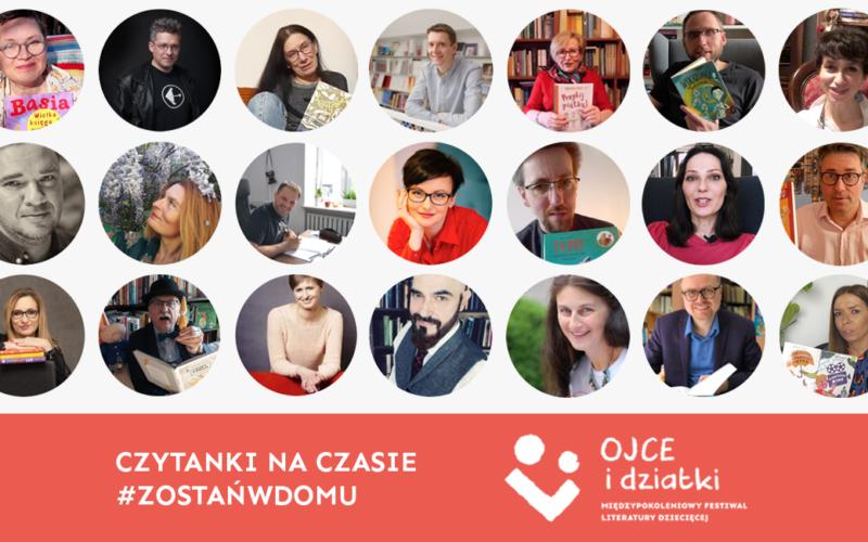 Autorzy książek dla najmłodszych we współpracy z Fundacją Czas Dzieci i Międzypokoleniowym Festiwalem Literatury Dziecięcej – Ojce i Dziatki walczą z nudą!