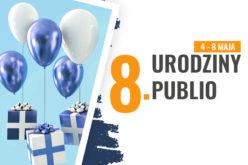 Specjalne promocje e-booków i audiobooków z okazji 8. urodzin Publio.pl