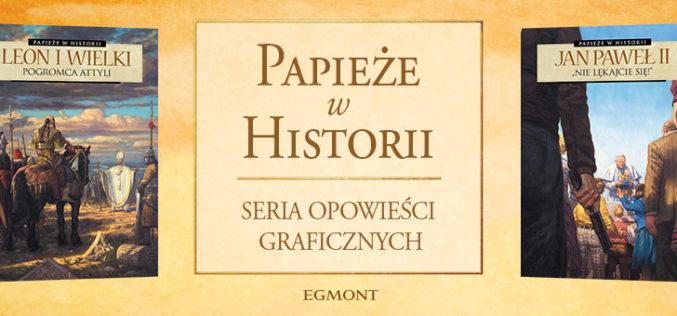 Komiksowa historia Europy i świata przez pryzmat papiestwa