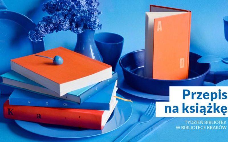 """Przepis na książkę czyli wirtualny """"Tydzień Bibliotek"""""""
