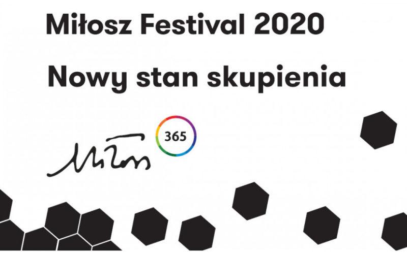 """9. edycja Festiwalu Miłosza pod hasłem """"Nowy stan skupienia"""" startuje już 4 czerwca!"""