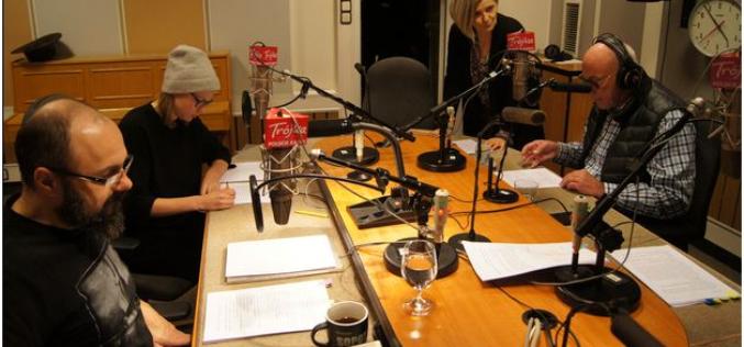 """Eliza Rycembel, Arkadiusz Jakubik i Piotr Machalica czytają w radiowej TRÓJCE """"SOLARIS"""" Stanisława Lema"""