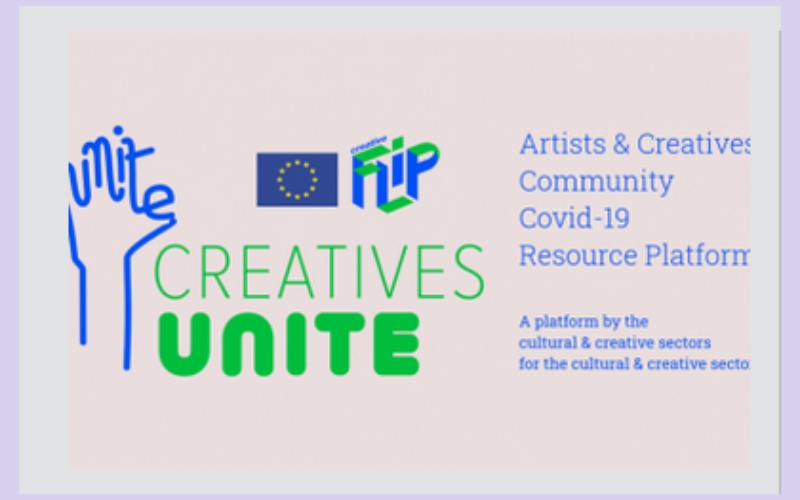 Creatives Unite – platforma dla sektorów kultury w związku z COVID-19