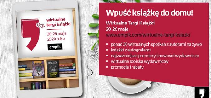 20 maja ruszają Wirtualne Targi Książki Empiku