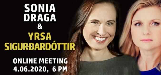 Sonia Draga zaprasza na spotkanie online z YRSA SIGURÐARDÓTTIR