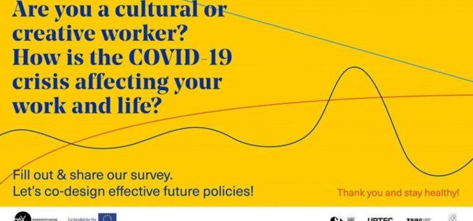 Ankieta dotycząca wpływu COVID-19 na pracowników sektorów kultury i kreatywnego