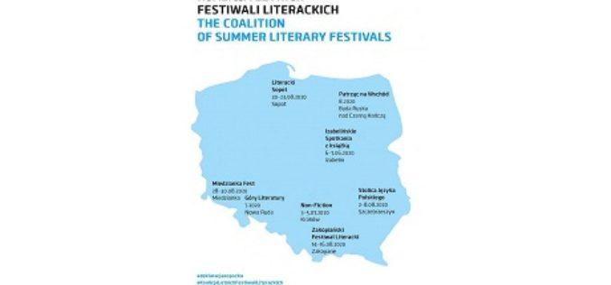 Letnie festiwale literackie odbędą się w planowanych terminach