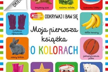 Nowości książkowe HarperCollins Polska – Moja pierwsza książka o kolorach
