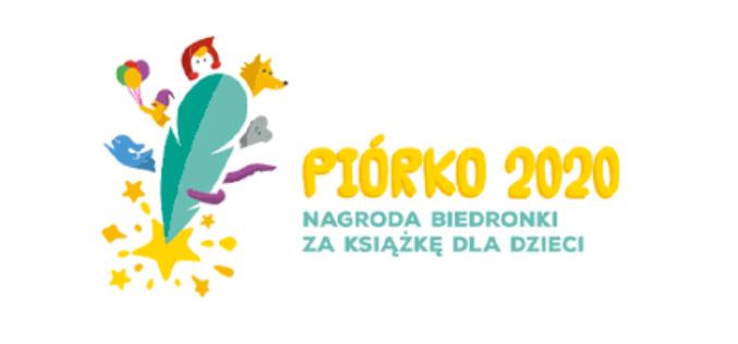 Piórko 2020. Nagroda Biedronki za książkę dla dzieci