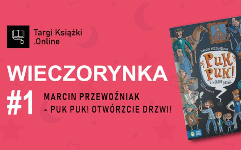 Wieczorynki – pisarze czytają dzieciom w ramach TargiKsiazki.Online