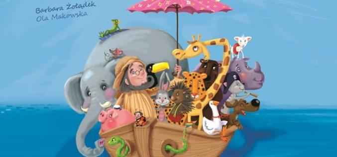 Arka Noego. Książka z okienkami