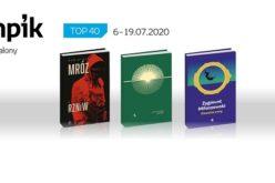 Książkowa lista TOP 40 w salonach Empik za okres 6.07-19.07.2020 r.