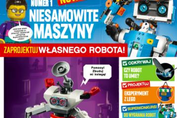 """""""LEGO EXPLORER"""" – niepowtarzalny miesięcznik dla dzieci w duchu edukacji STEM – zapowiedź EGMONT Polska"""