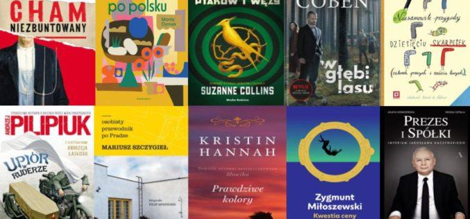 O 20% wzrosła sprzedaż książek w czerwcu 2020 rdr wg panelu Nielsen BookScan