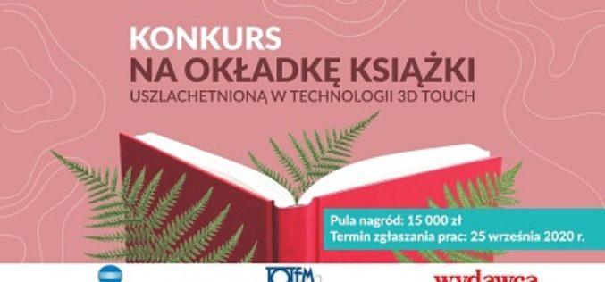 Konkurs dla grafików na okładkę książki uszlachetnioną w technologii 3D Touch