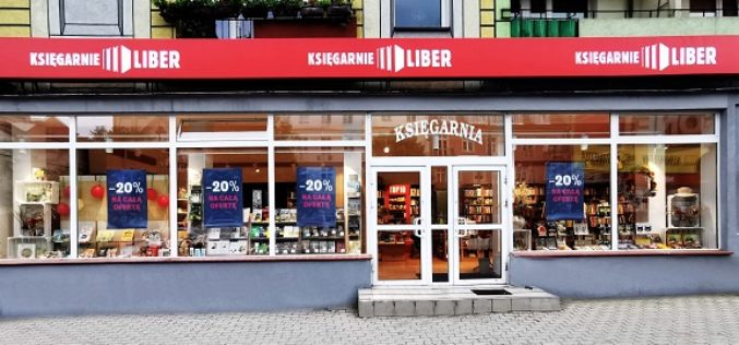 LIBER SA otworzył kolejną księgarnię