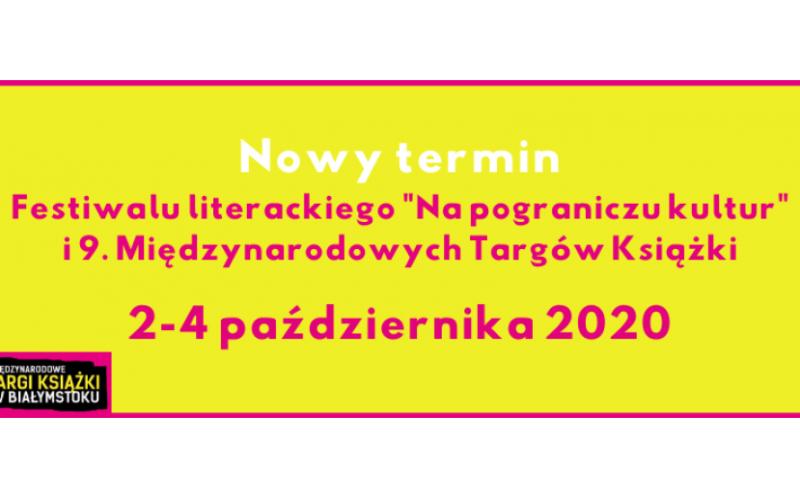 Targi Książki w Białymstoku 2020 w październiku