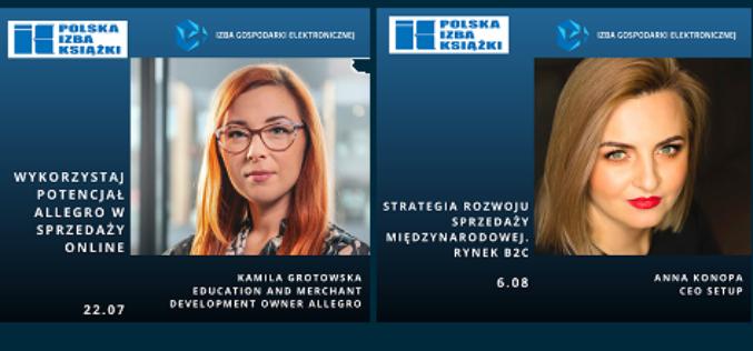 Webinary e-Izby dla Polskiej Izby Książki – PROSIMY O REJESTRACJĘ