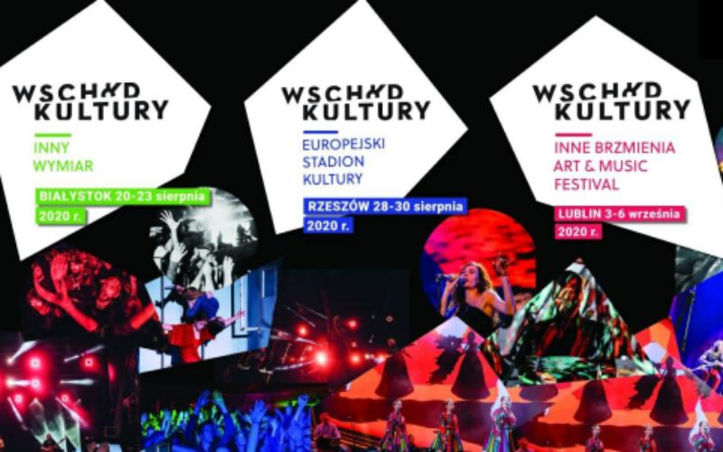 Festiwal Wschód Kultury: 20.08 – 06.09 BIAŁYSTOK – RZESZÓW – LUBLIN