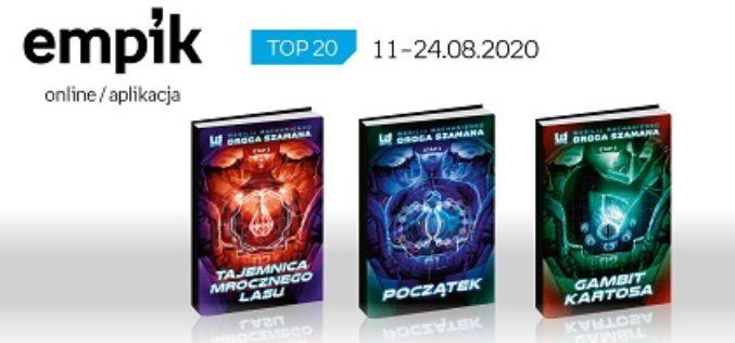 Książkowa lista TOP20 na Empik.com za okres 11-24.08.2020 r.