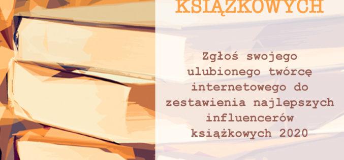 Pomóż wybrać najlepszych blogerów książkowych roku!
