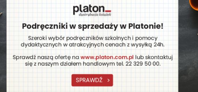 Podręczniki w sprzedaży w Platonie!