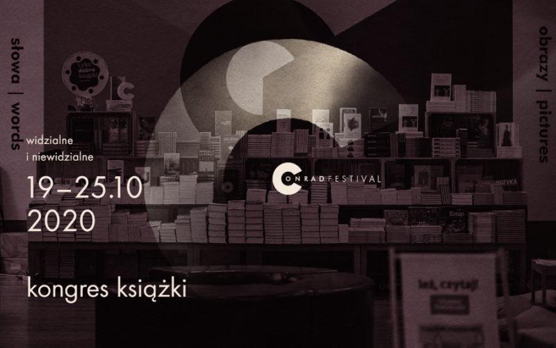 Rusza pierwsza edycja Kongresu Książki na Festiwalu Conrada