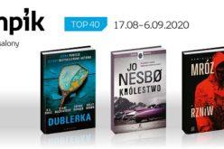 Książkowa lista TOP40 w salonach Empik za okres 17.08-6.09.2020 r.