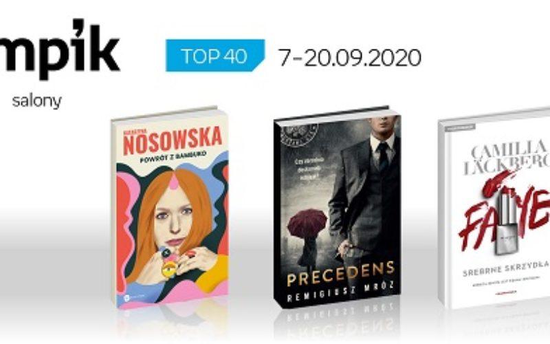 Książkowa lista TOP40 w salonach Empik za okres 7-20.09.2020 r.