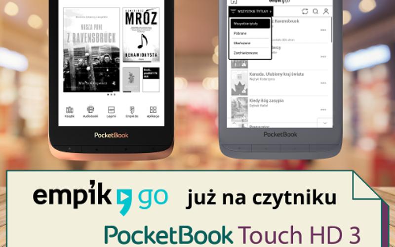 Czytnik PocketBook Touch HD 3 z Empik Go