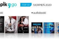 TOP 10 audiobooków i e-booków w aplikacji Empik Go w sierpniu