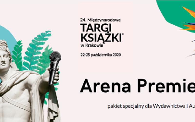 Spotkanie z Autorem na scenie Międzynarodowych Targów Książki w Krakowie!
