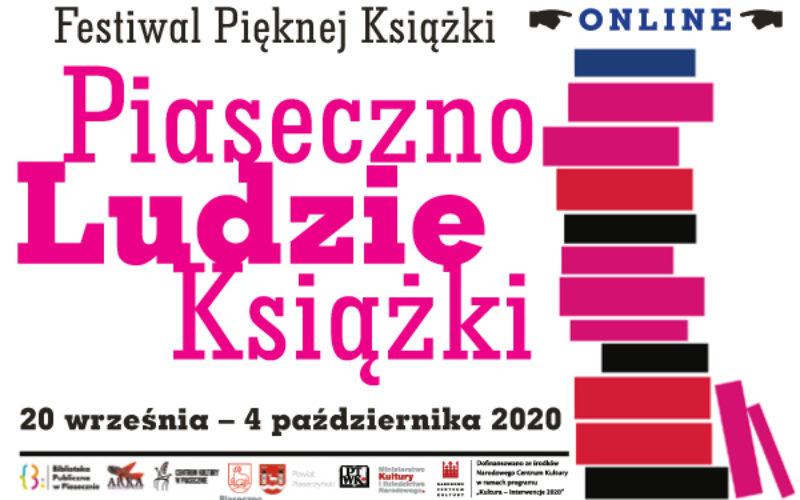 """Festiwal Pięknej Książki """"Piaseczno, Ludzie, Książki"""" ONLINE"""