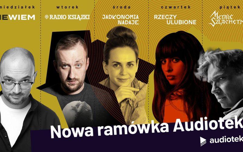 Nowa, jesienna ramówka Audioteki – codziennie inny podcast