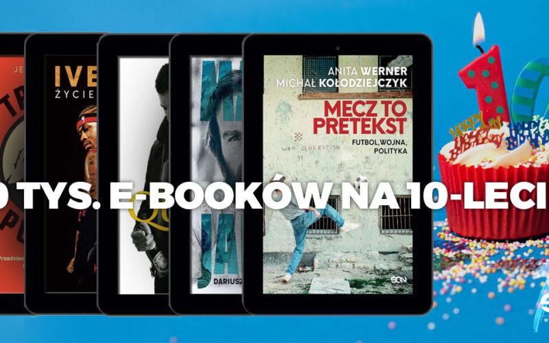 Wydawnictwo SQN rozda 10 tysięcy e-booków z okazji 10-lecia