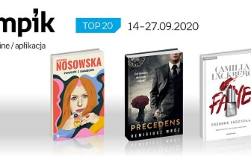 Książkowa lista TOP20 na Empik.com za okres 14-27.09.2020 r.