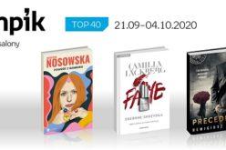 Książkowa lista TOP40 w salonach Empik za okres 21.09-4.10.2020 r.