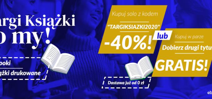 Targi Książki to my! [Wybierz swój rabat: -40% lub 2 za 1]