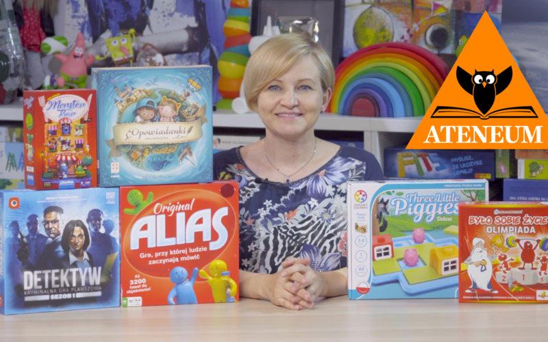 Najlepsze gry i zabawki na księgarską półkę – Gwiazdka 2020