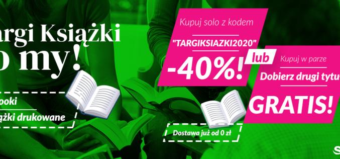Targi Książki to My! [Wybierz zniżkę -40% lub 2 za 1]